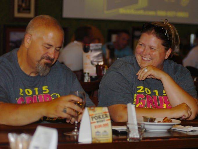 jodi bilak and mike oliver from canton have conversation