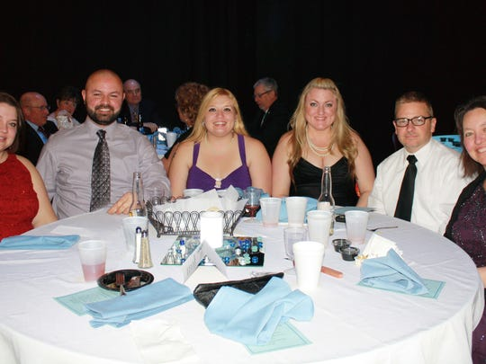 A Snowflake Fantasy dinner dance was held Jan. 17 at