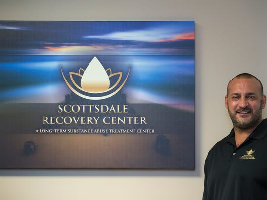 A portrait of Chris Cohn (Founder and Co-Owner), July 25, 2017, at Scottsdale Recovery Center, 10446 N 74th Street, Scottsdale.