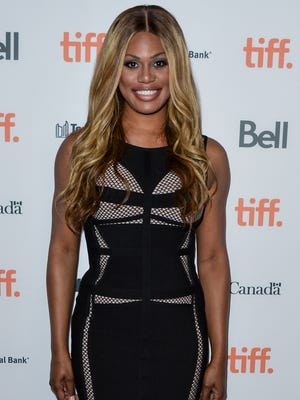 Laverne Cox, shown at an event on June 25, is nominated for an Emmy.