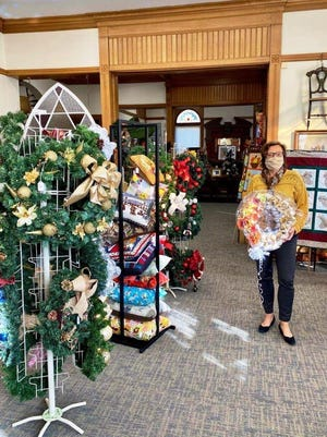 Gardner Museum Coordinator Marion Knoll says that although this year's Festival of Trees event had to be canceled because of COVID-19 concerns, the museum's gift shop will still be open with hundreds of donated items available.