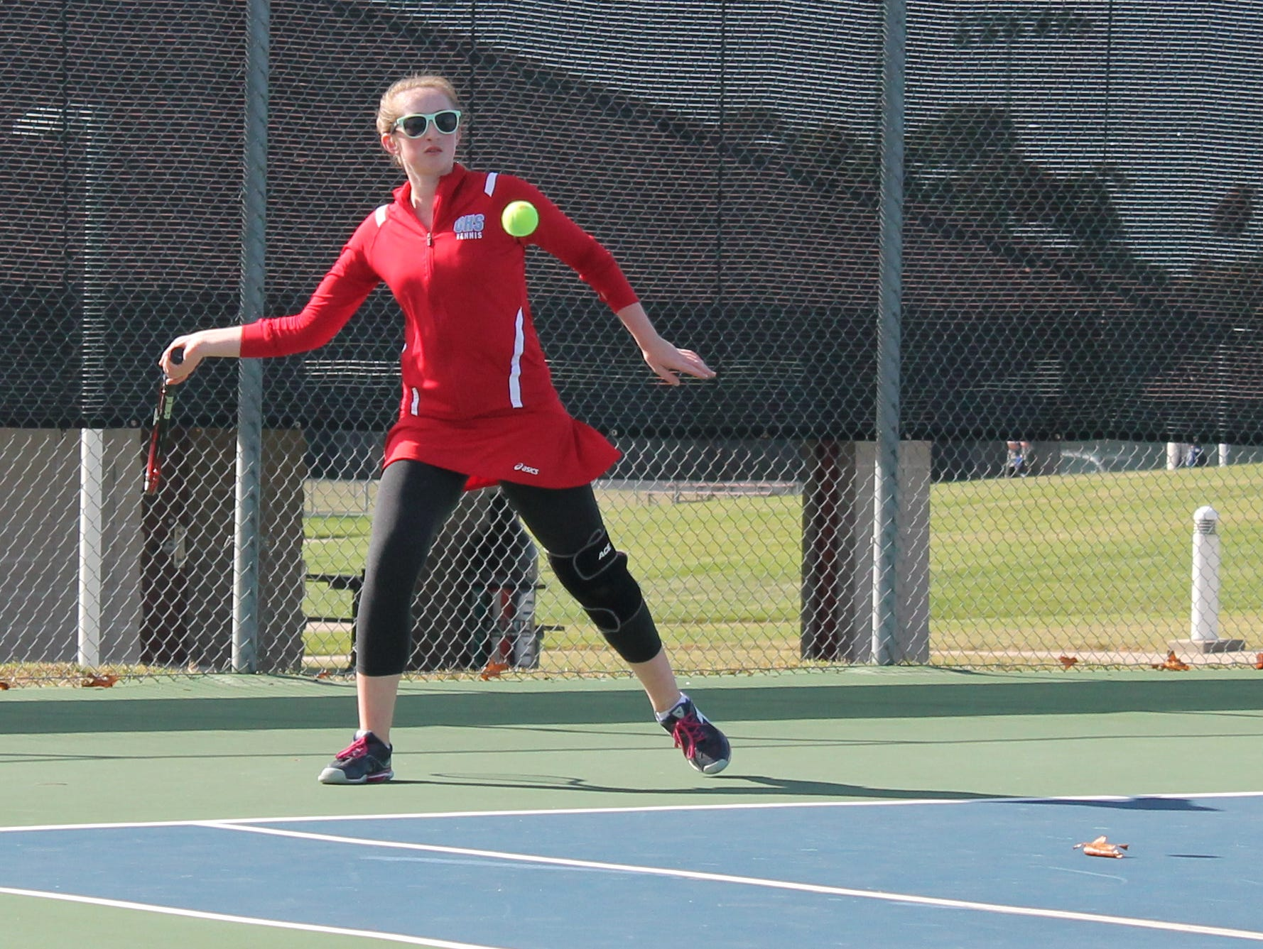 Glendale junior Rachel Dwyer finished eighth at the 2015 state tennis championships at Cooper Tennis Complex Oct. 16-17.