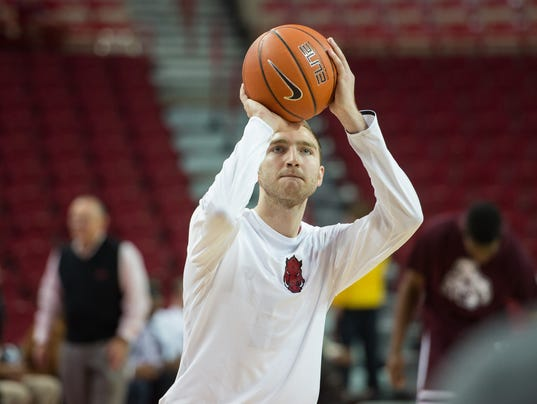 NCAA Basketball: Mississippi State at Arkansas