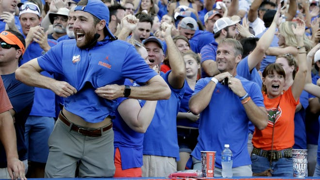 Gator fans might be few and far between, literally, if and when the 2020 college football season starts.