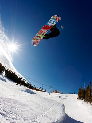 Angel Fire Resort in northern New Mexico is one of several areas across the state offering skiing and snowboarding during the winter months.