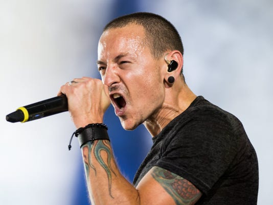 EPA (FILE) POLAND USA MUSIC CHESTER BENNINGTON OBIT ACE MUSIC POL DO