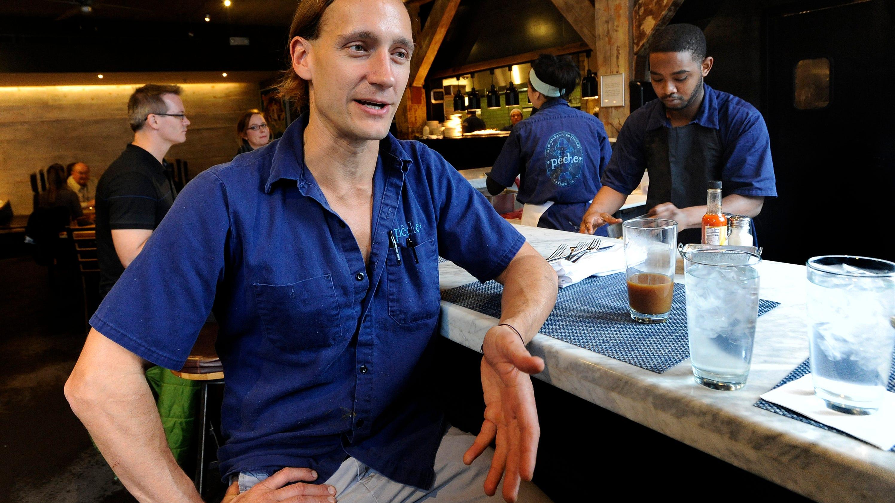 new orleans restaurant owner seeing crimson this week