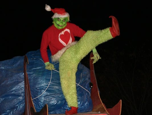 Mark Cline as the Grinch