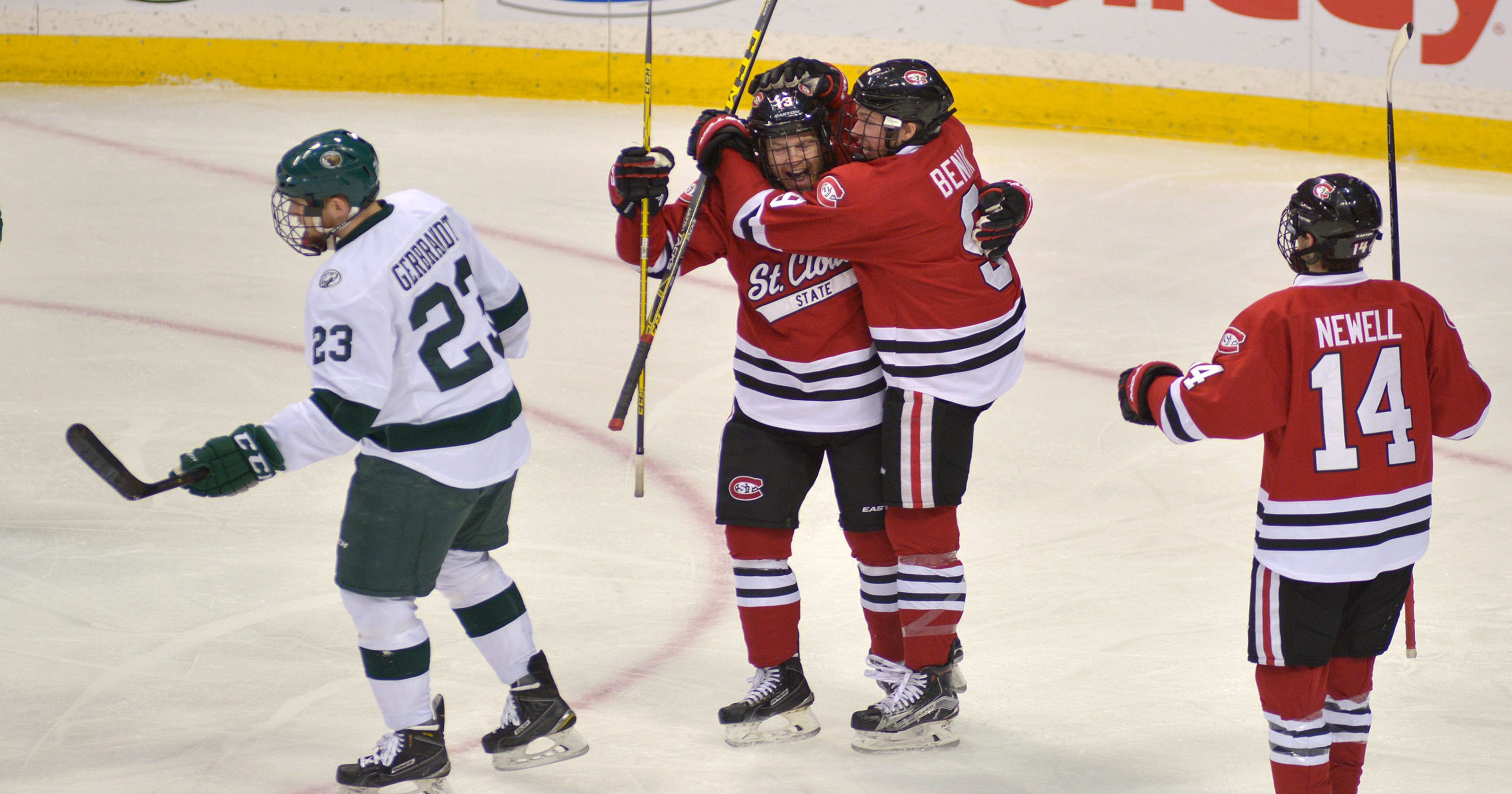 SCSU wins, almost drops, North Star College Cup trophy