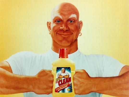 Is mr clean gay
