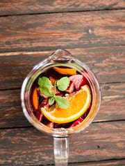 More than one winery will be serving seasonal sangria this weekend.