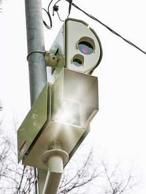 Red Light photo enforcement camera