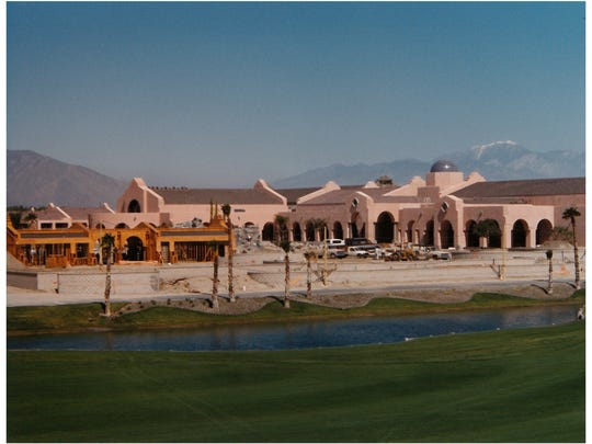 The Mission Hills Resort and Spa is under construction in Rancho Mirage in 1991. The hotel would go on to become the Westin Mission Hills Golf Resort & Spa.