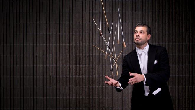 "Guest conductor Jader Bignamini will lead the Milwaukee Symphony in performances of Respighi's ""Pines of Rome"" Nov. 16-18, 2018."