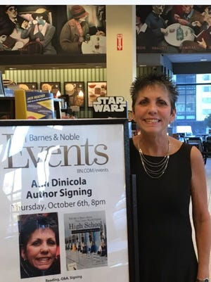 Ann Dinicola at her book signing in October.