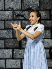 "Abby Jesus is Dorothy in The Ruby Slipper Performing Arts Academy's production of the Valley's first sign language version of ""The Wizard of Oz"". Photo taken on Friday, May 26, 2017. The play features both ASL sign language and spoken translations."