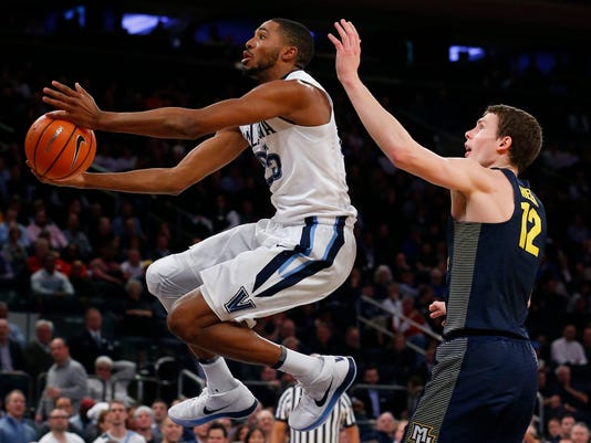 NCAA Basketball: Big East Conference Tournament-Villanova vs Marquette