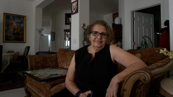 Manijeh Shahidi Clarke arrived in the United States in 1986 after eluding Iranian authorities.
