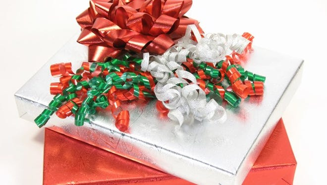 Don't forget to wrap your gifts for Secret Santa and White Elephant gift exchanges.