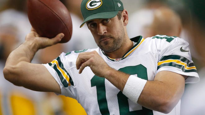 Green Bay quarterback Aaron Rodgers brings his talents to Ralph Wilson Stadium for the first time on Sunday.