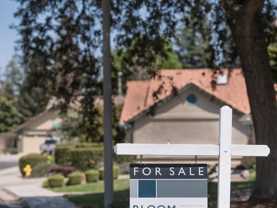 Fewer homes are on the market. Photo taken on Thursday,