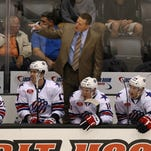 Randy Cunneyworth is back coaching the Amerks. His first game action came Oct. 1 in a preseason game against Binghamton at RIT. The regular season begins Friday at home against the Lake Erie Monsters.
