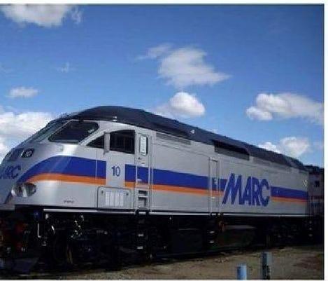 MARC train stuck and killed a person near Halethorpe | wusa9 com