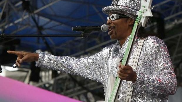 Local music legend Bootsy Collins.