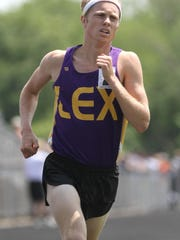 Lexington senior Nick Stricklen is the top seed in