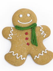 Ginger, used in gingerbread cookies, can be used to