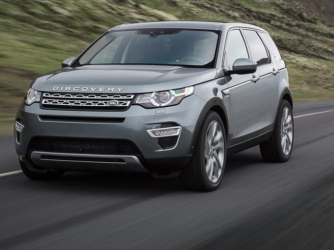 Land Rover introduced the Discovery Sport, a three-row SUV that's aimed at being compact and efficient