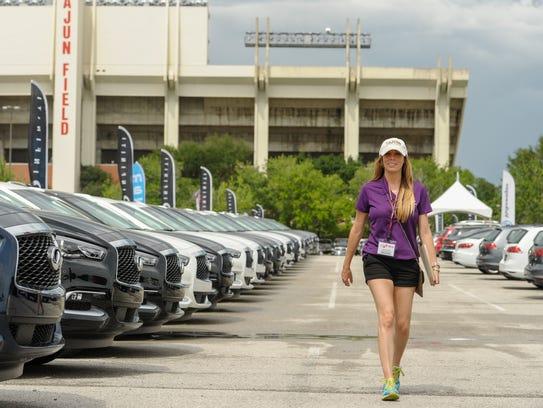 Moss Bmw Lafayette >> Annual car show opens at Cajun Field