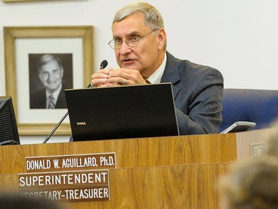 Lafayette Parish School Board Superintendent Donald