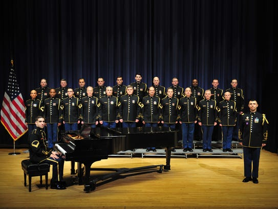 The U. S. Army Chorus will perform at African Baptist