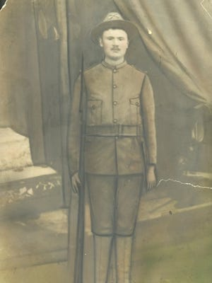 James Henry Guthrie enlisted in the army to serve in the Spanish-American War. Raised near Walnut, he used his service allowance to buy a store in the community.