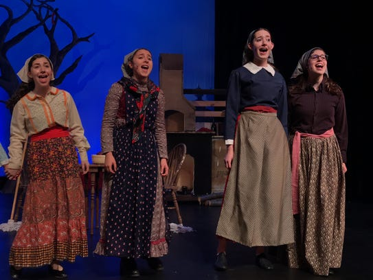 "Eastchester High School presents ""Fiddler on the Roof"";"