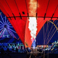 Thrill show, tethered hot-air balloon rides part of the 2018 Waukesha County Fair