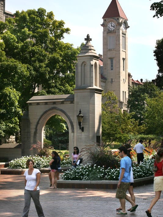 IndyStar stock IU stock indiana university stock campus stock sample gates