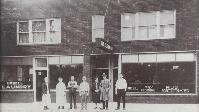 The cleaners has a long history in Howell.