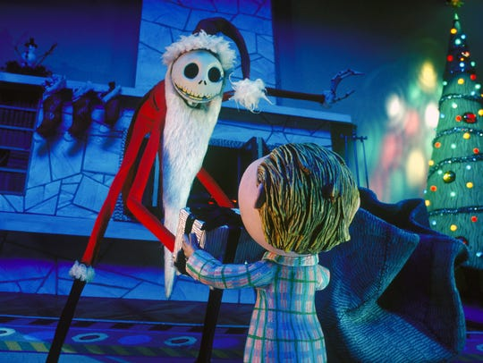 Say Merry Christmas to Jack Skellington of 'Tim Burton's