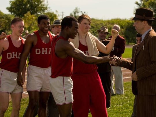 "Stephan James and Jason Sudeikis in ""Race."" (Thibault"