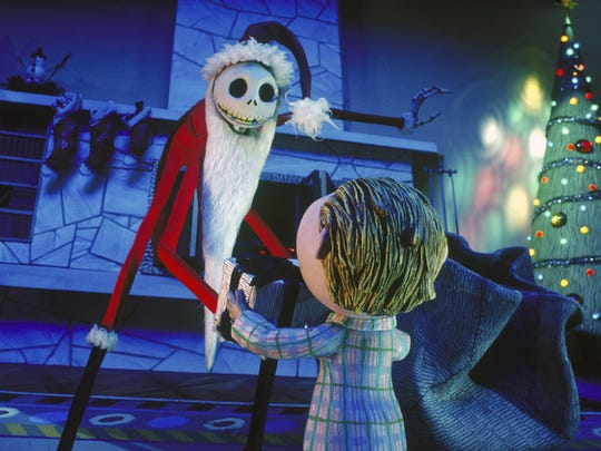 "Jack Skellington in a scene from ""The Nightmare Before"