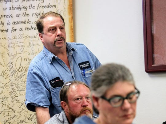 Otero County Superintendent Steve Quappe said repairing the roads near Escondido Acres and Gardens can cost up to $50,000 at Thursday's Otero County Commission meeting.