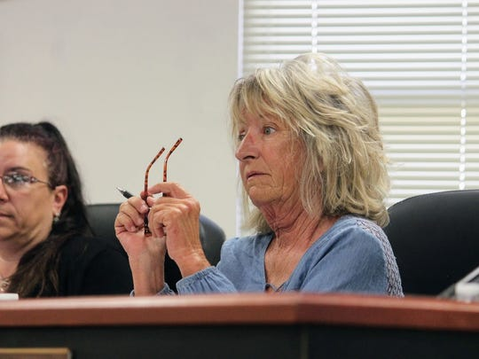 County Commission Chairman Janet White withdrew her motion to schedule a public hearing to consider an ordinance for a five member Board of County Commissioners because her fellow commissioners were not in favor of the idea at their April 13 regular meeting.