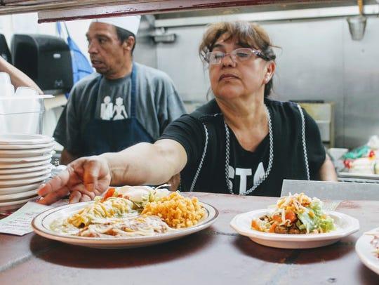 Rizo's Authentic Mexican Restaurant owner Ana Rizo