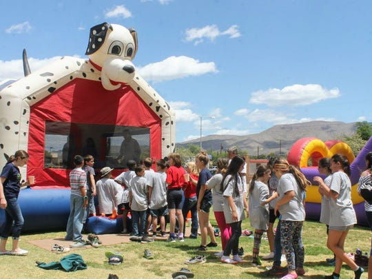 Fifth-grade students from the Alamogordo Public School District enjoyed a variety of activities Wednesday afternoon as part of their D.A.R.E. graduation at Alameda Park Zoo.