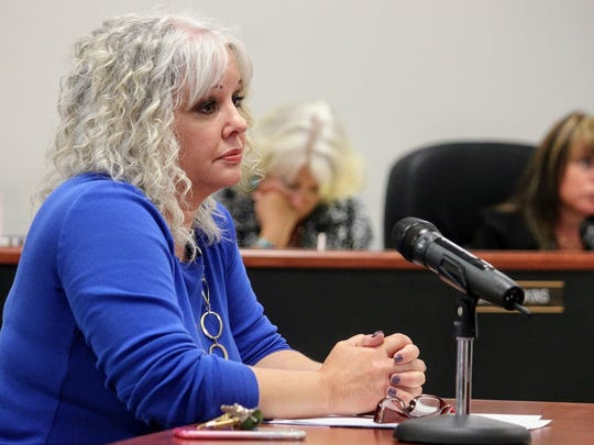 Shown in this file photo, 12th Judicial Court Executive Officer Katina Watson addressed the progress of the 12th Judicial District Courthouse project to County Commissioners at their Thursday, June 8 Otero County Commission meeting.