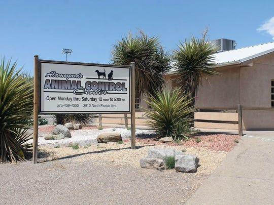 Alamogordo Animal Control located at 2910 N. Florida Avenue.