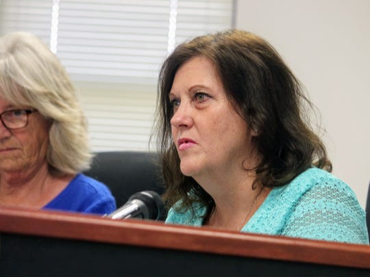 Otero County Commissioner Susan Flores agreed to add her signature to the Southern Sacramento Mountain Watershed and Forest Restoration Strategy which will help promote the forest's health at their July 13 county commission meeting.