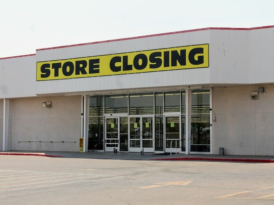 Kmart at White Sands Mall officially closed its doors Sunday.